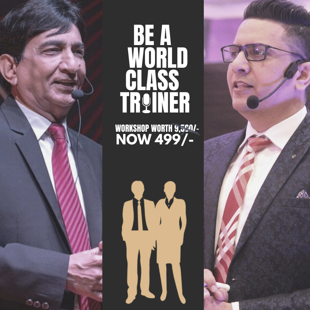 Be A World Class Trainer 18th April